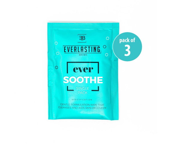 EverSoothe healing wipes pack of 3 = 42 wipes