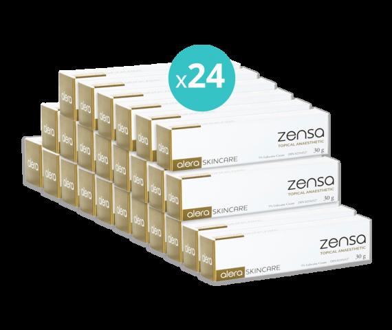 24 x Zensa Pre-procedure Cream 30g