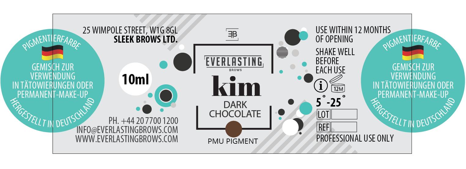 Pigment label example